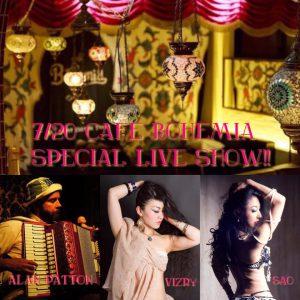 Cafe Bohemia Special Live SHow