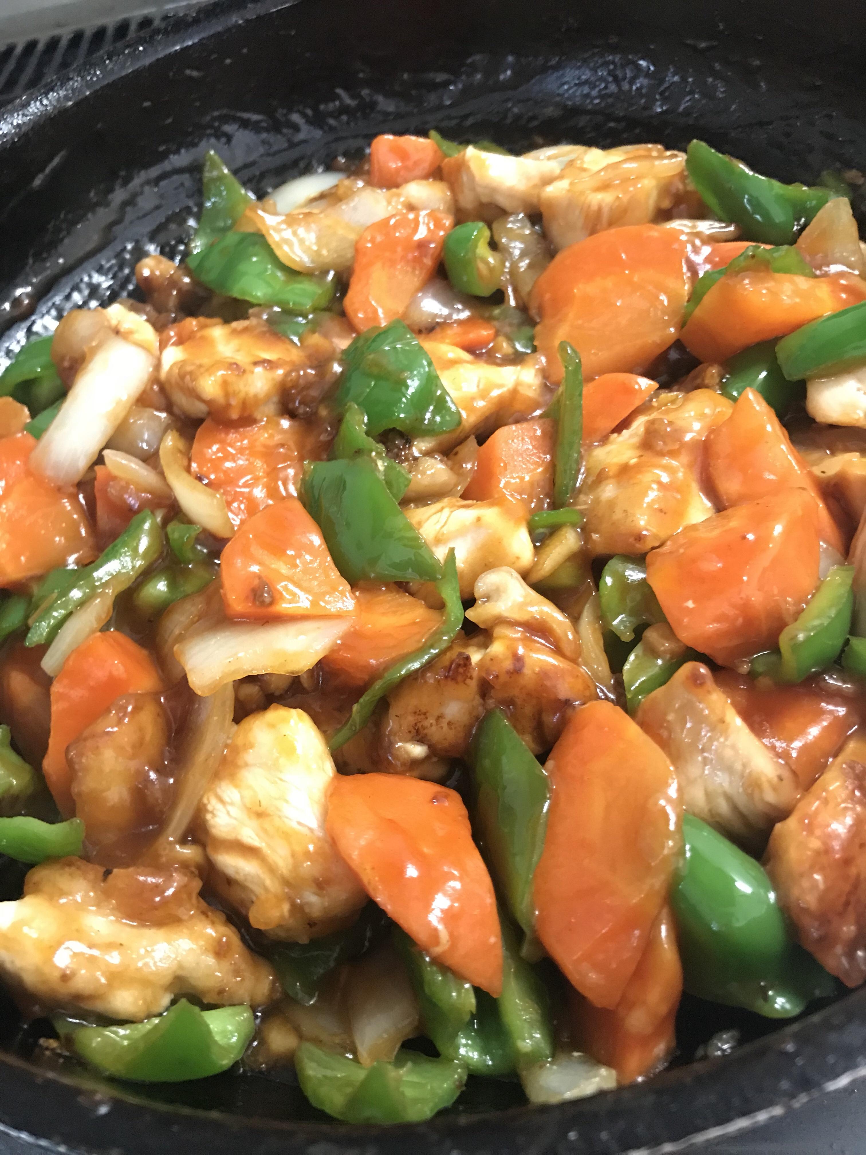 鶏肉甘酢煮